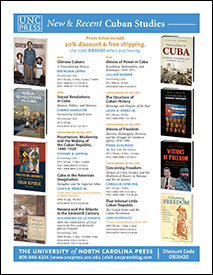 UNC Press Cuban Studies 2013