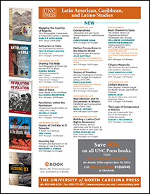 Latin American Studies 2016 brochure, UNC Press