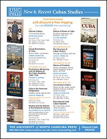 UNC Press Cuban Studies 2013