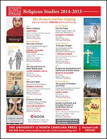 UNC Press Religious Studies 2014-2015