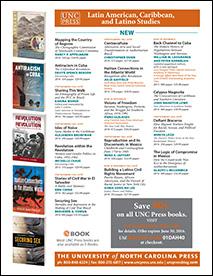 Latin American Studies 2016 brochure, UNC Press
