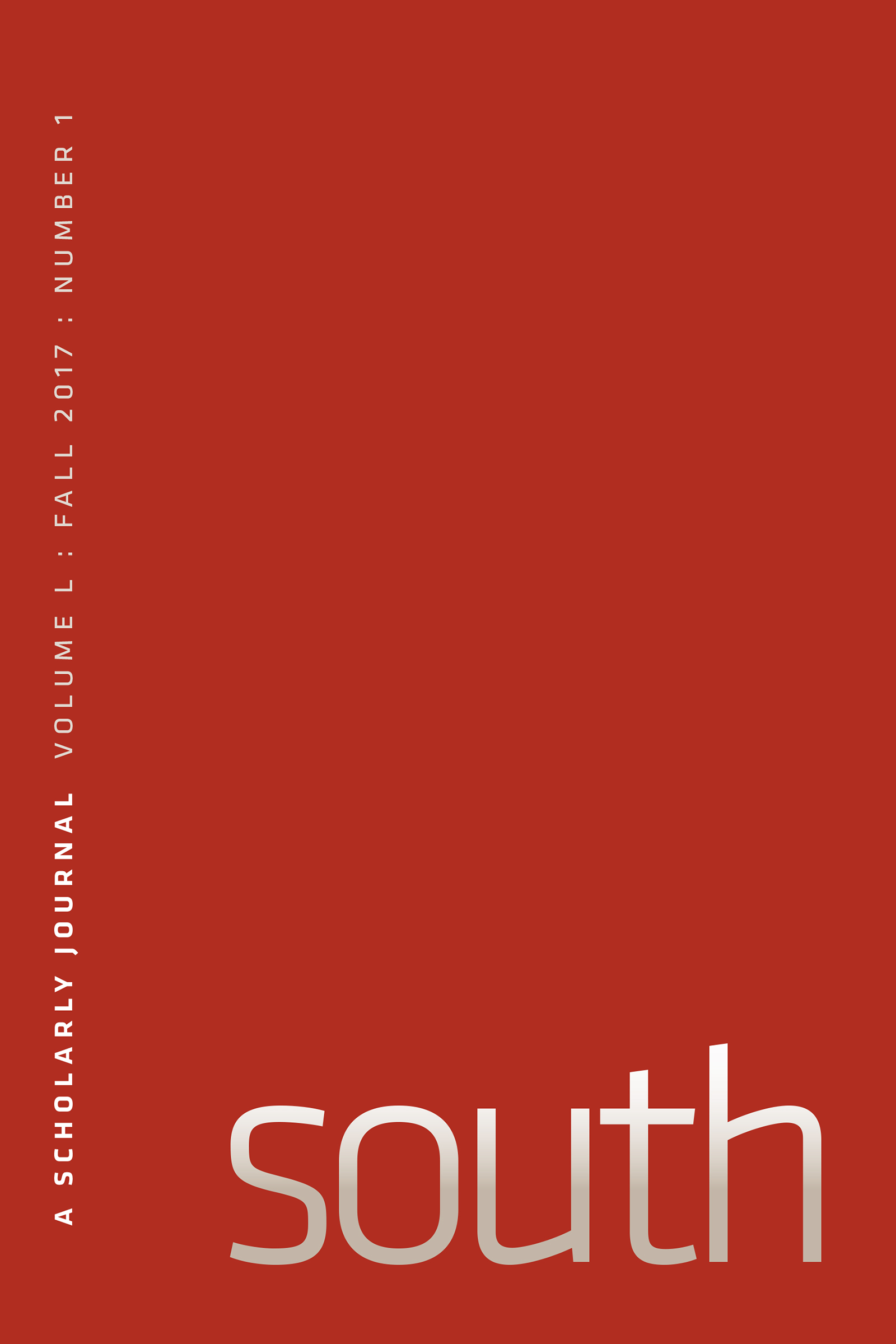 south: a scholarly journal, vol. 50 issue 1