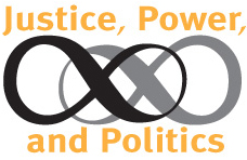 Justice, Power, and Politics series logo