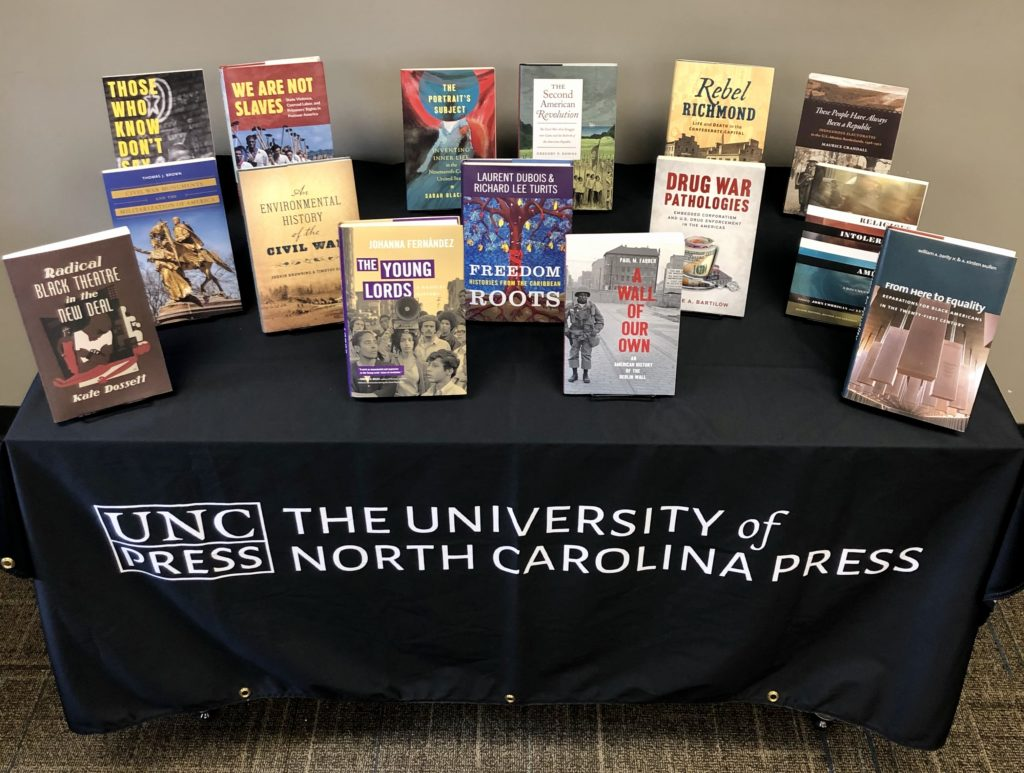 UNC Press Virtual OAH Display A-F