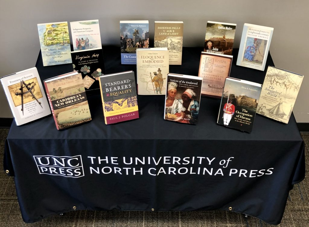 UNC Press Virtual OAH Display Omohundro