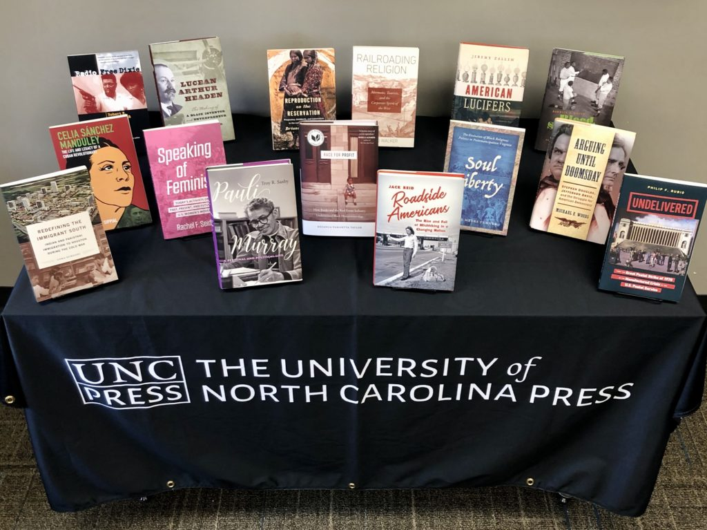 UNC Press Virtual OAH Display R-Z