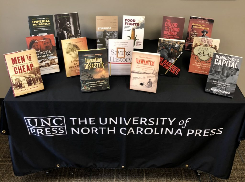 UNC Press Virtual OAH Display K-P