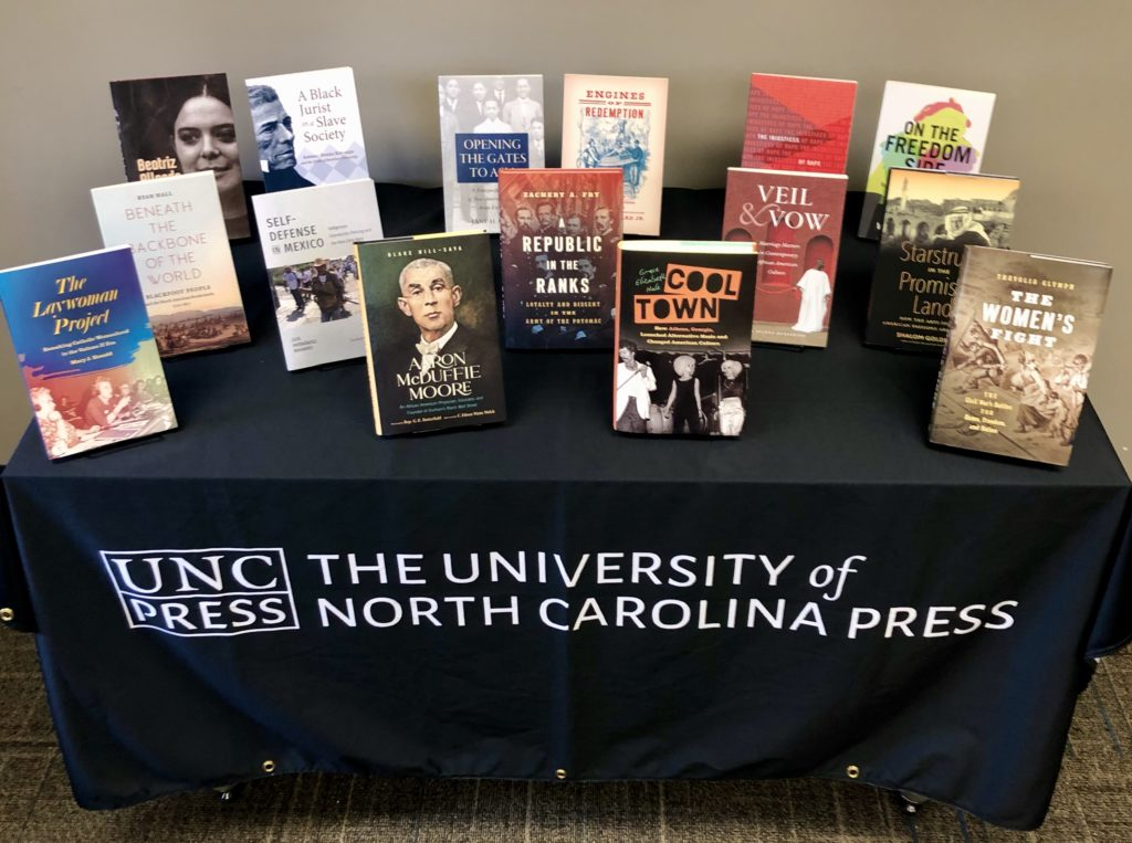 UNC Press Virtual OAH Display F-J